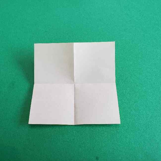 折り紙のミミィちゃんの折り方作り方①リボン (4)