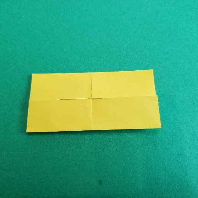 折り紙のミミィちゃんの折り方作り方①リボン (5)