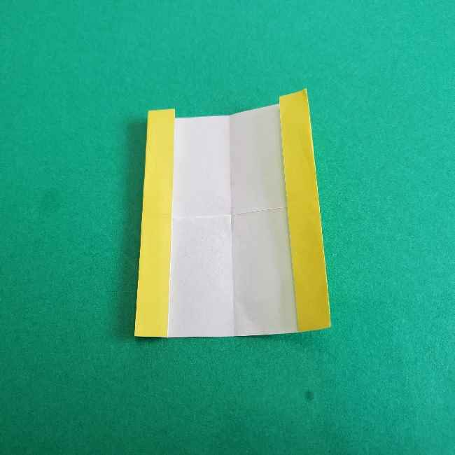 折り紙のミミィちゃんの折り方作り方①リボン (6)