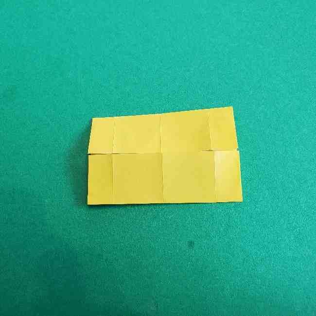 折り紙のミミィちゃんの折り方作り方①リボン (8)