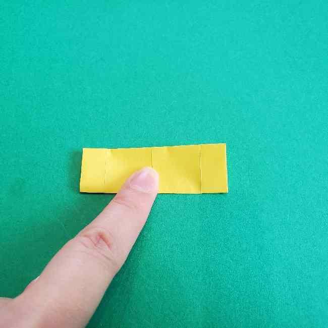 折り紙のミミィちゃんの折り方作り方①リボン (9)