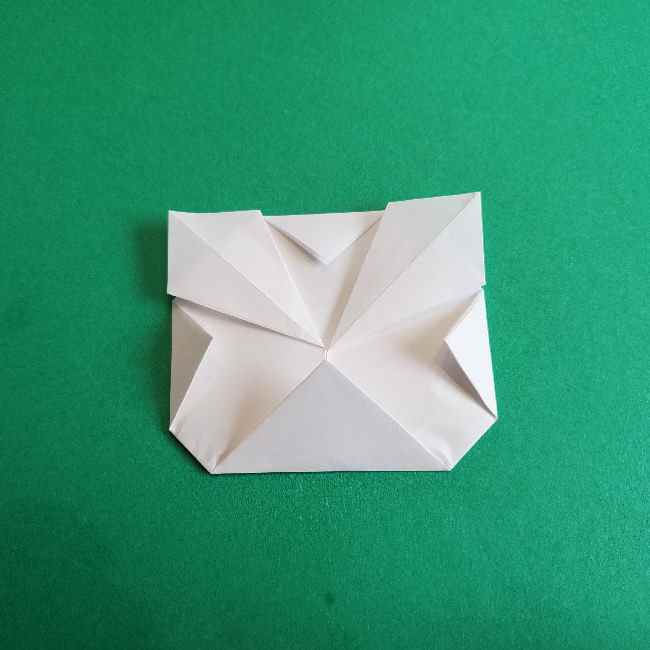 折り紙のミミィちゃんの折り方作り方②顔 (10)