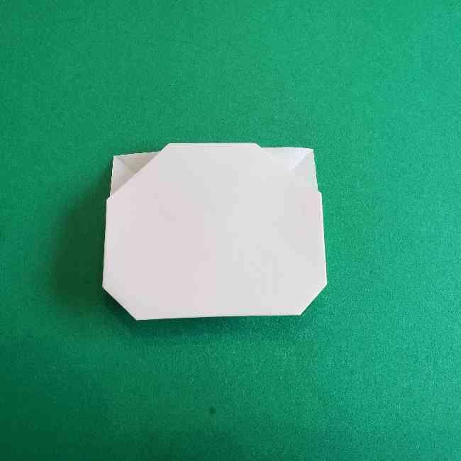 折り紙のミミィちゃんの折り方作り方②顔 (11)