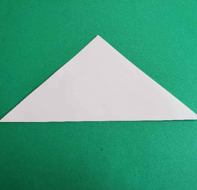 折り紙のミミィちゃんの折り方作り方②顔 (2)
