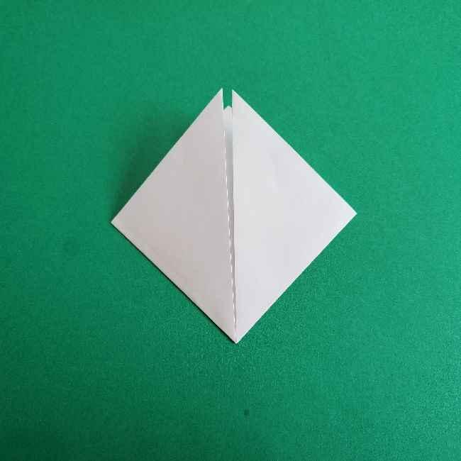 折り紙のミミィちゃんの折り方作り方②顔 (3)