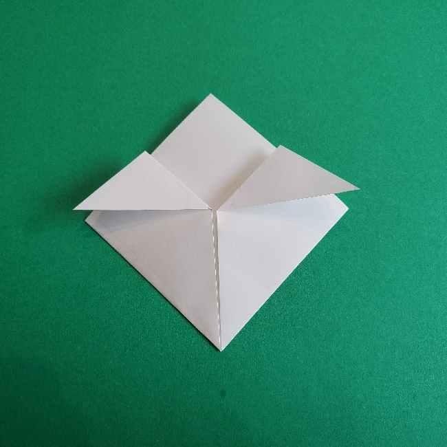折り紙のミミィちゃんの折り方作り方②顔 (4)
