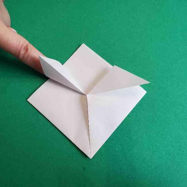 折り紙のミミィちゃんの折り方作り方②顔 (5)