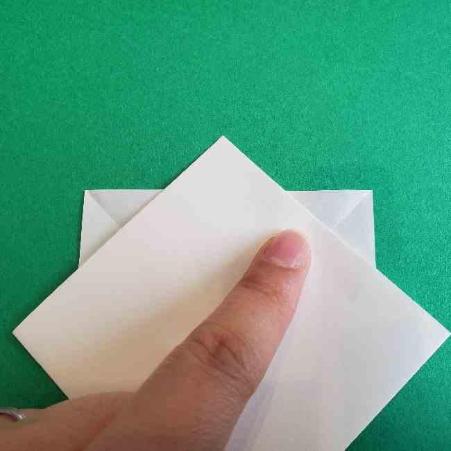 折り紙のミミィちゃんの折り方作り方②顔 (6)