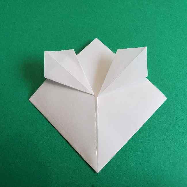 折り紙のミミィちゃんの折り方作り方②顔 (7)