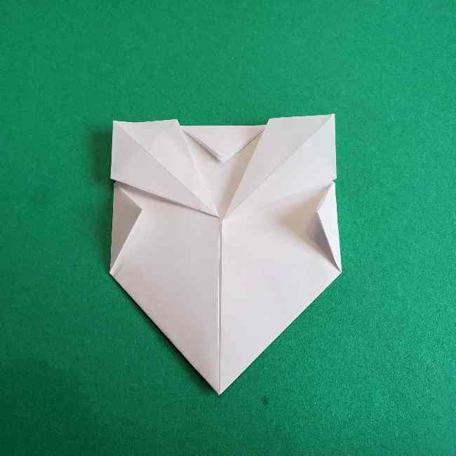 折り紙のミミィちゃんの折り方作り方②顔 (9)
