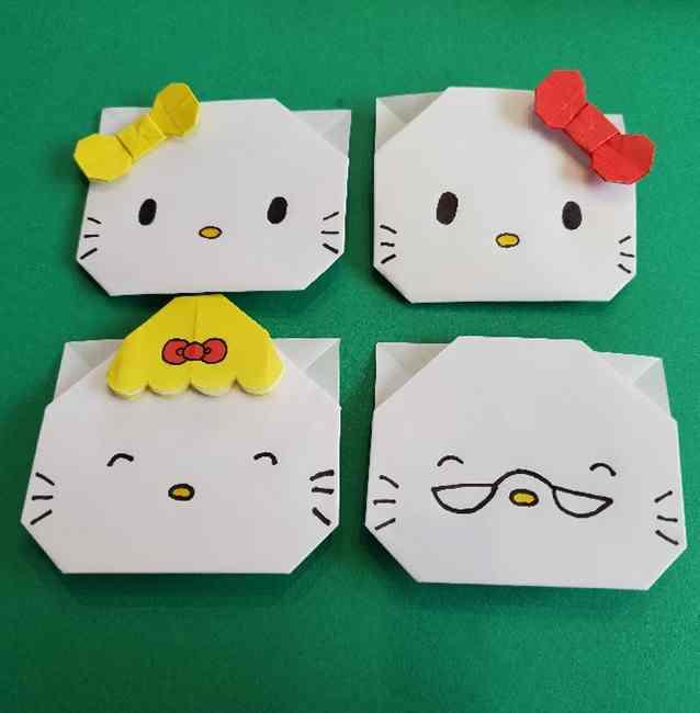 キティちゃんのリボン 折り紙の折り方作り方まとめ