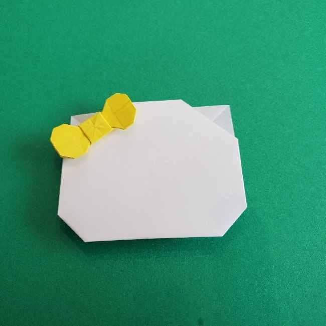 折り紙のミミィちゃんの折り方作り方