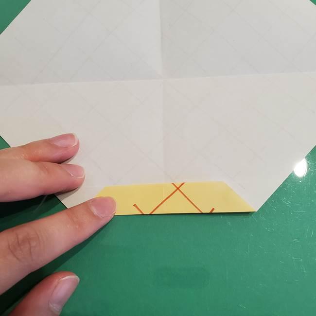 折り紙 メロンパンの折り方作り方(10)