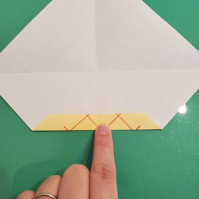 折り紙 メロンパンの折り方作り方(11)