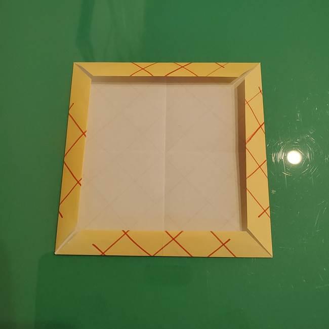 折り紙 メロンパンの折り方作り方(12)