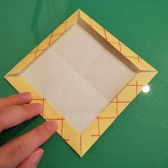 折り紙 メロンパンの折り方作り方(14)