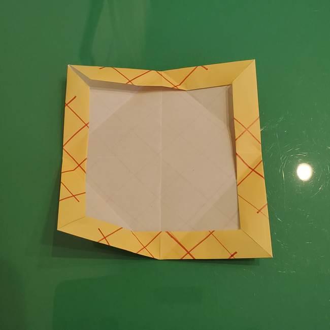 折り紙 メロンパンの折り方作り方(15)