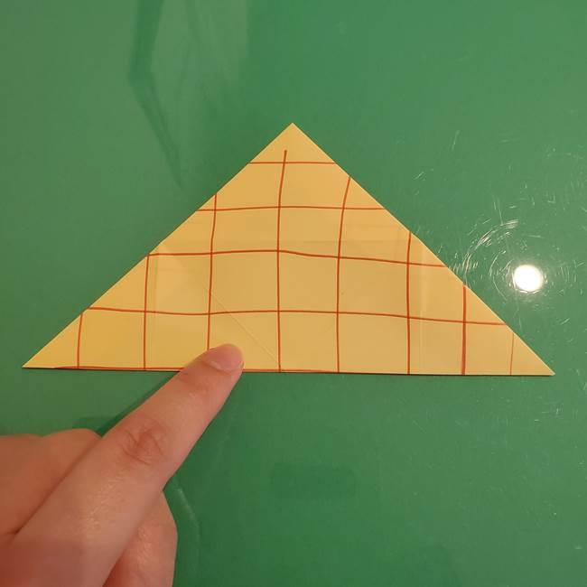 折り紙 メロンパンの折り方作り方(16)