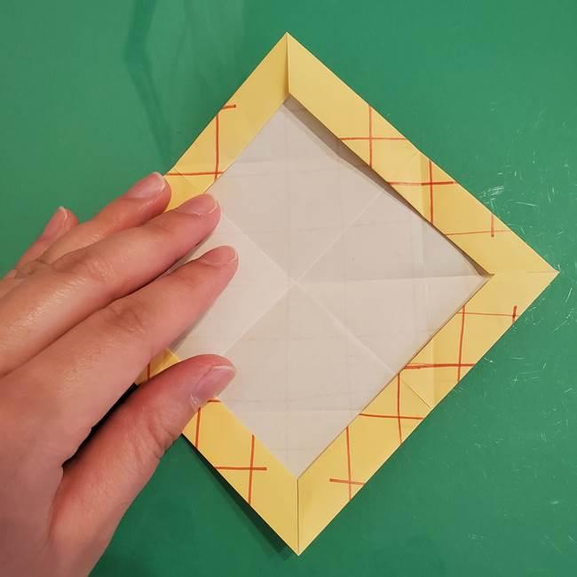 折り紙 メロンパンの折り方作り方(17)