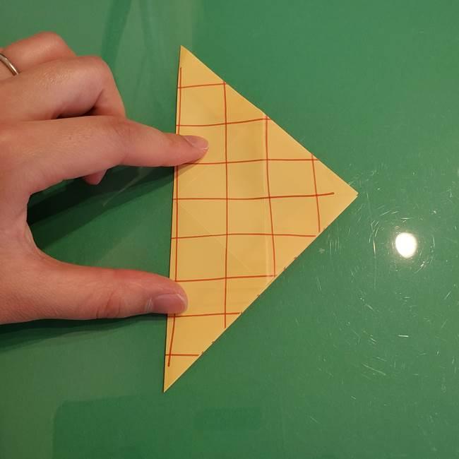 折り紙 メロンパンの折り方作り方(18)