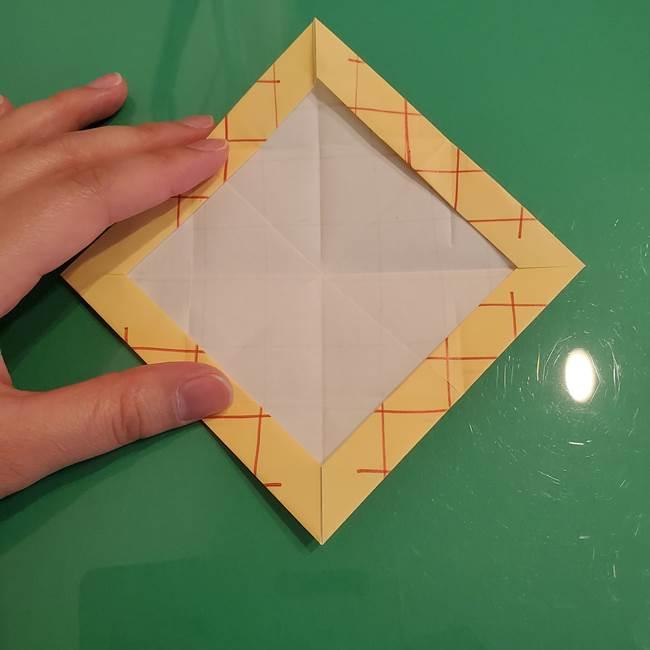 折り紙 メロンパンの折り方作り方(19)