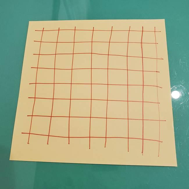 折り紙 メロンパンの折り方作り方(2)