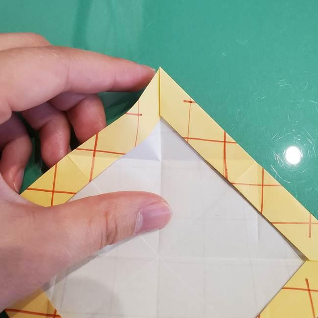 折り紙 メロンパンの折り方作り方(20)
