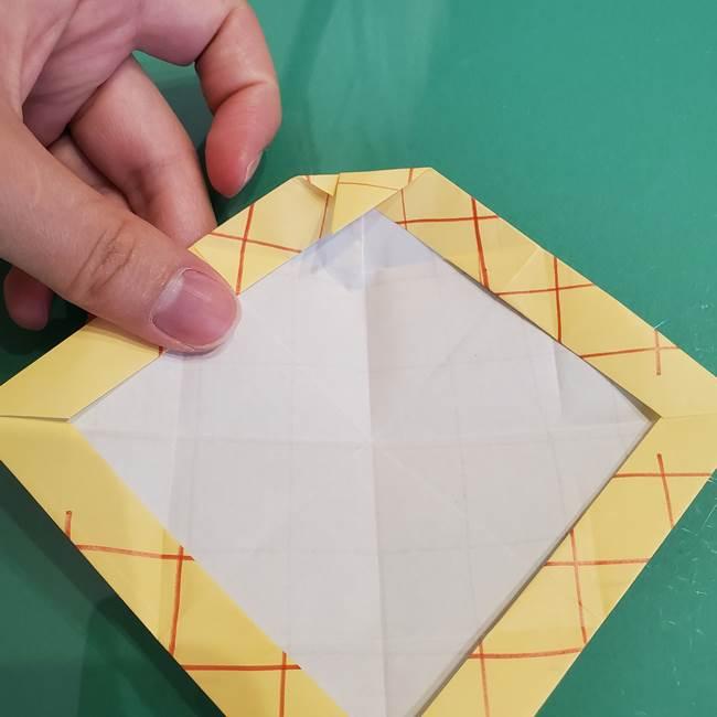 折り紙 メロンパンの折り方作り方(22)