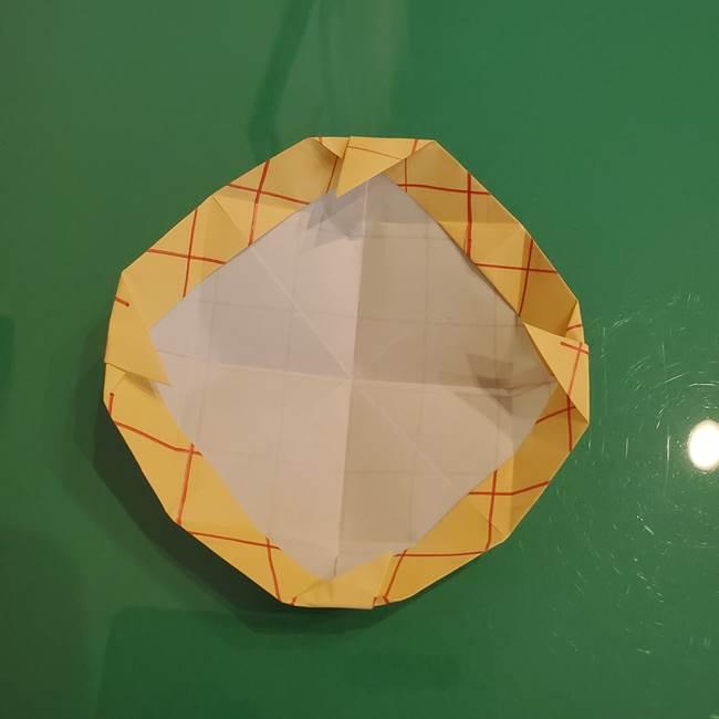 折り紙 メロンパンの折り方作り方(23)