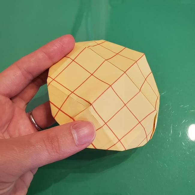 折り紙 メロンパンの折り方作り方(24)