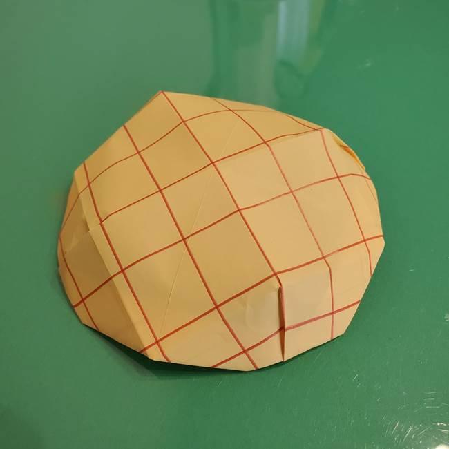 折り紙 メロンパンの折り方作り方(25)