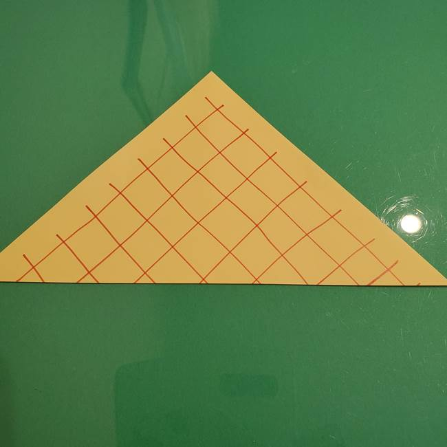 折り紙 メロンパンの折り方作り方(3)