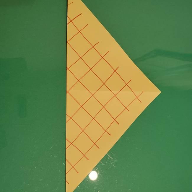 折り紙 メロンパンの折り方作り方(5)