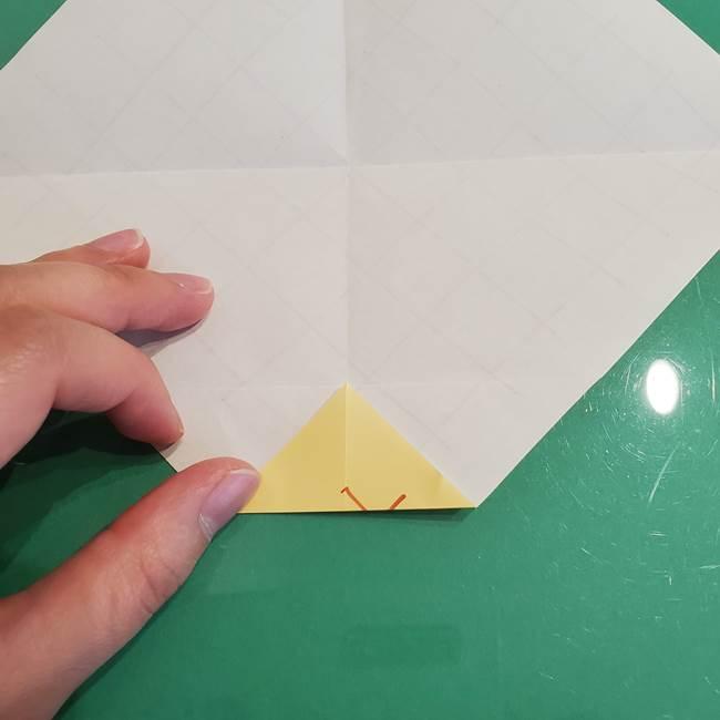 折り紙 メロンパンの折り方作り方(9)