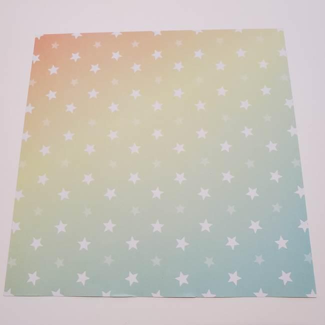折り紙 星型の切り方折り方は簡単!(1)