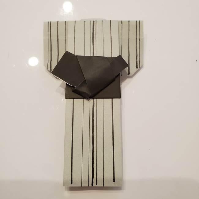 折り紙の浴衣 男性用