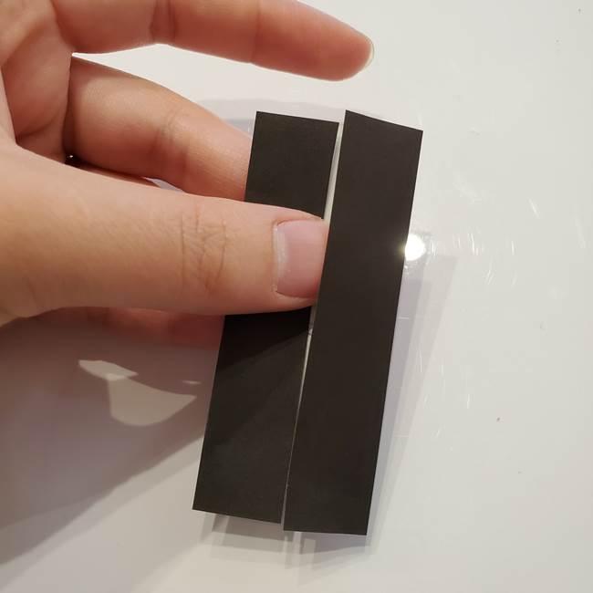 男性用の浴衣の帯の折り方結び方(3)