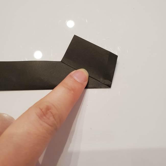 男性用の浴衣の帯の折り方結び方(7)