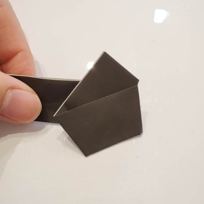男性用の浴衣の帯の折り方結び方(9)