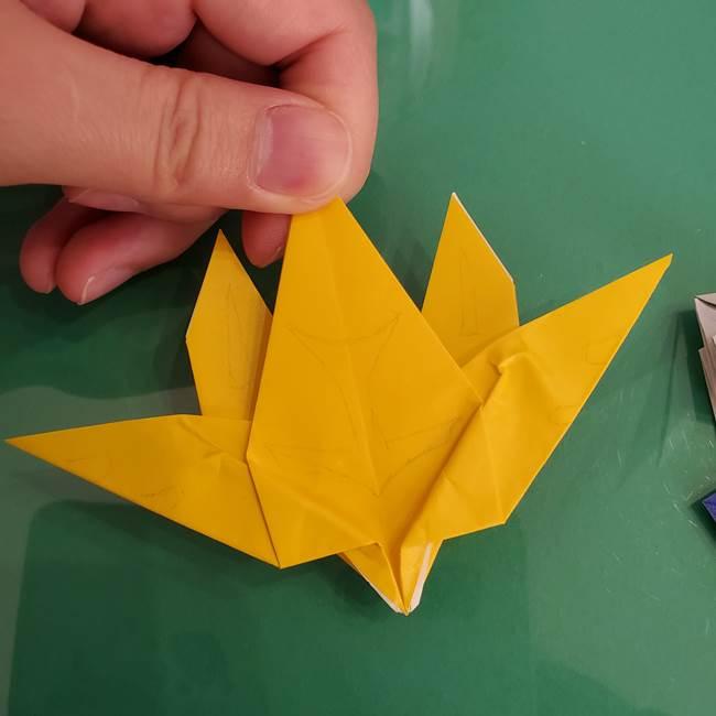 貼り合わせて折り紙のザシアンの完成(4)