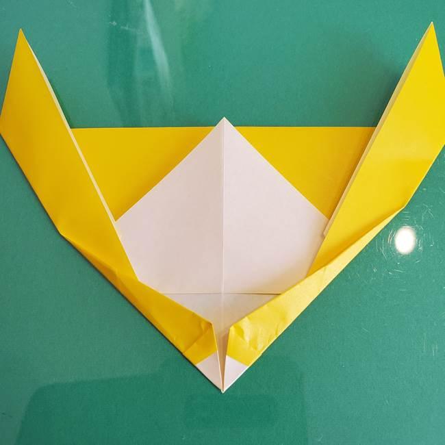 貼り合わせて折り紙のザマゼンタの完成♪(5)