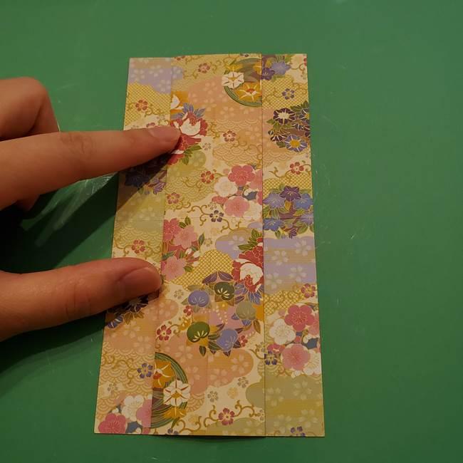 8月の折り紙 浴衣の折り方作り方①折り方(10)