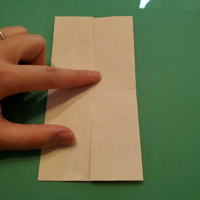 8月の折り紙 浴衣の折り方作り方①折り方(12)