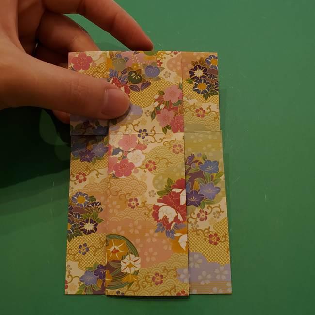 8月の折り紙 浴衣の折り方作り方①折り方(14)