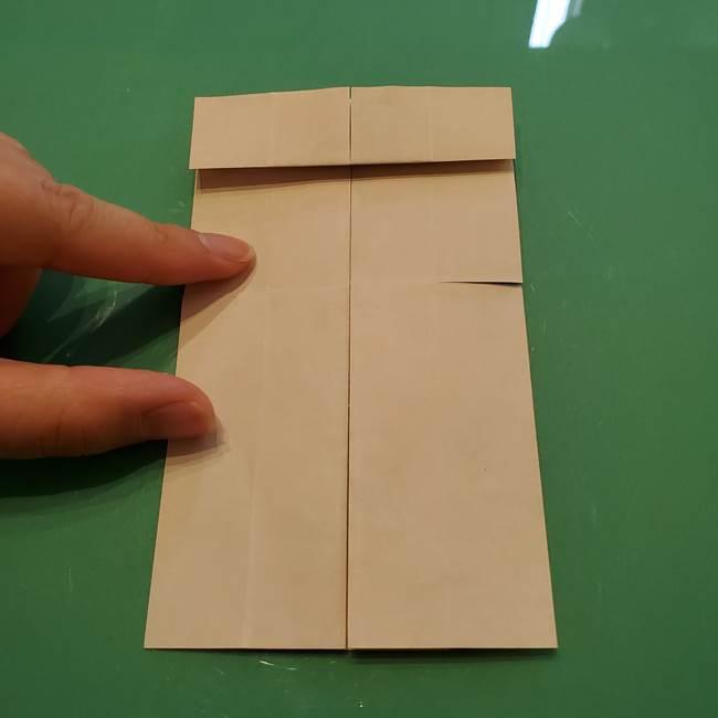 8月の折り紙 浴衣の折り方作り方①折り方(16)