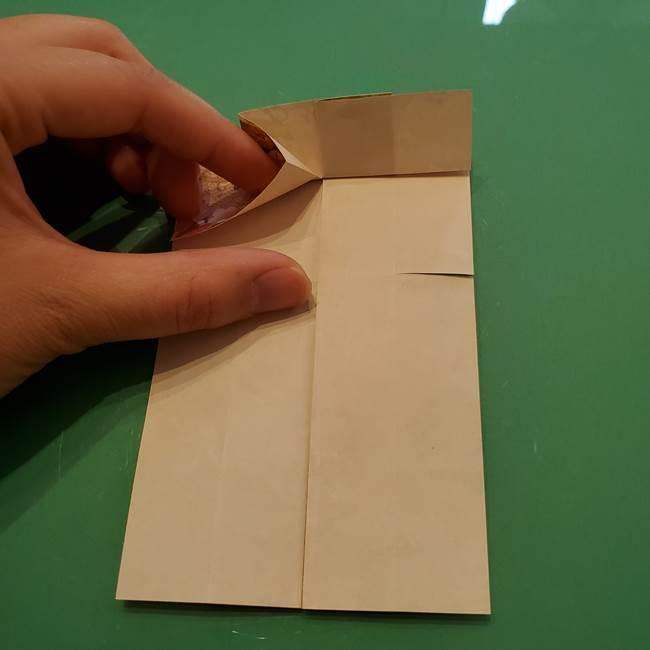 8月の折り紙 浴衣の折り方作り方①折り方(17)