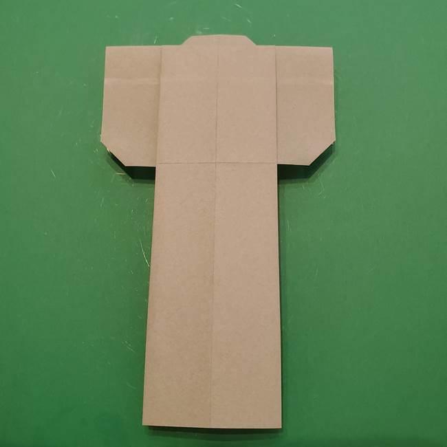 8月の折り紙 浴衣の折り方作り方①折り方(23)