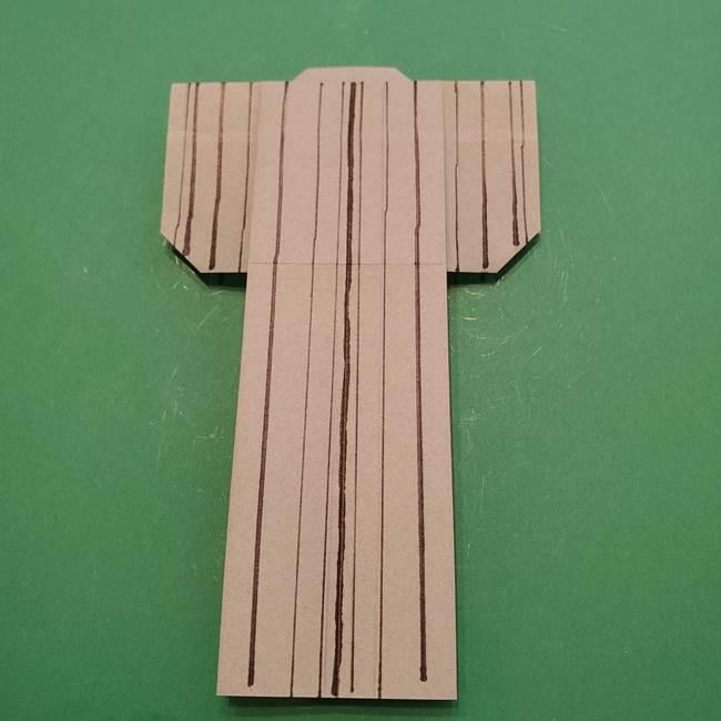 8月の折り紙 浴衣の折り方作り方①折り方(24)