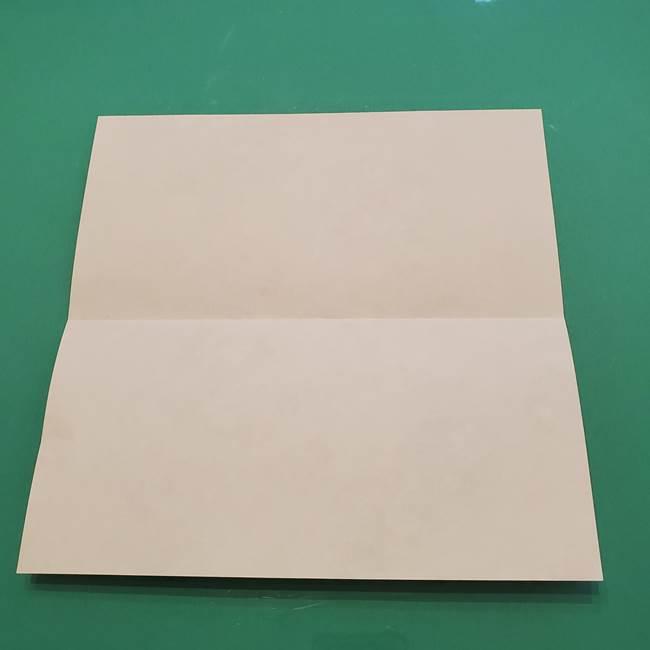 8月の折り紙 浴衣の折り方作り方①折り方(3)