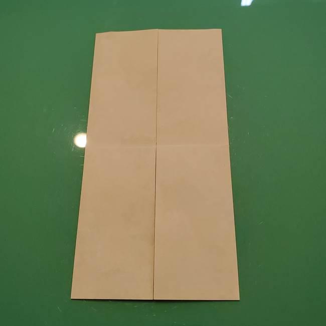 8月の折り紙 浴衣の折り方作り方①折り方(6)